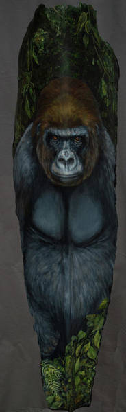 Painting - Gentle Giant by Nancy Lauby