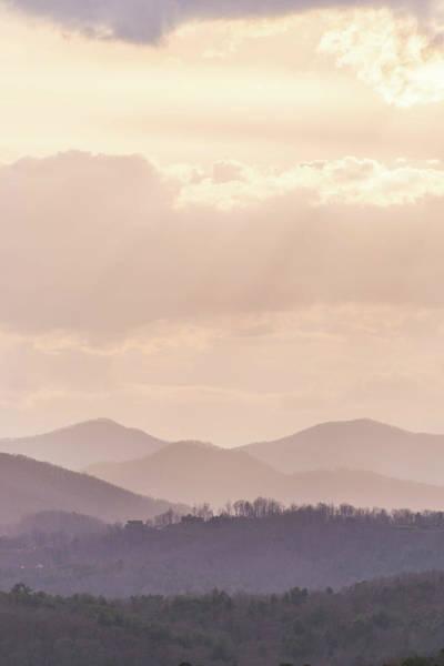 Grove Park Inn Photograph - Gentle Hues Over Asheville 2 by Julie Richie