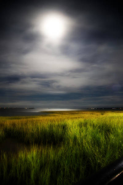 Low Battery Photograph - Gentle Moon  by J Darrell Hutto