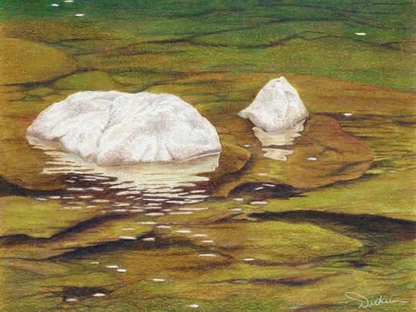 Painting - Gentle River by Rhonda Dicksion