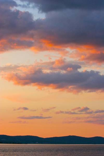 Photograph - Gentle Sunset Over The Hudson by Polly Castor