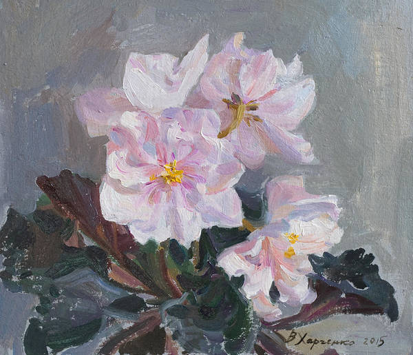 Wall Art - Painting - Gentle by Victoria Kharchenko
