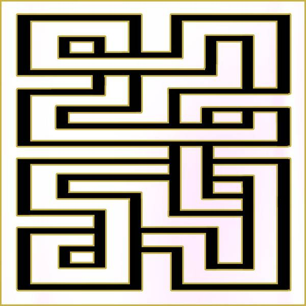 Digital Art - Geo 7 - Transparent by Chuck Staley