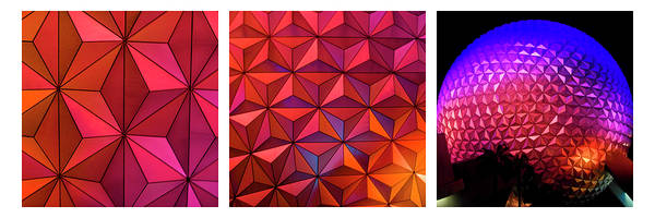 Photograph - Geodesic Glow 2 by Christi Kraft