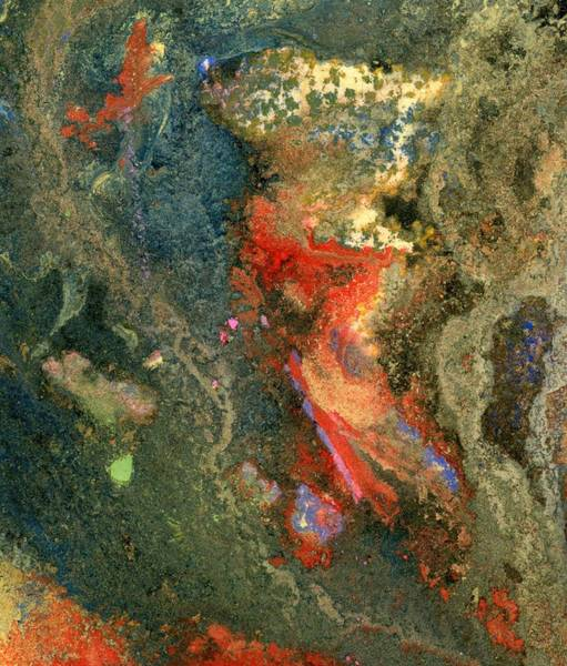 Mixed Media - Geology-volcanic by Barbara Jacobs