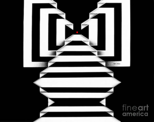 Digital Art - Geometric 1287 by Rafael Salazar