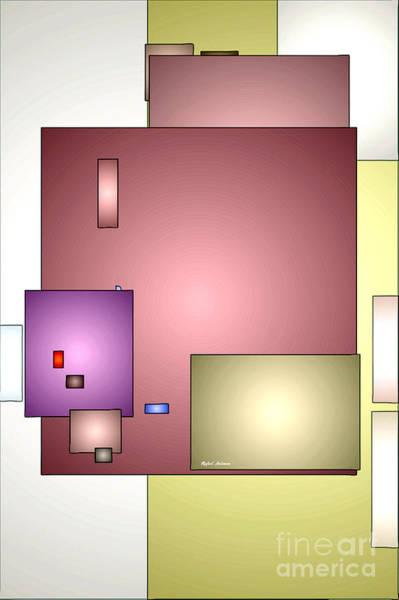 Digital Art - Geometric Abstract 0790_54 by Rafael Salazar