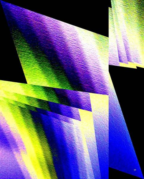 Digital Art - Geometric Abstract 6 by Will Borden