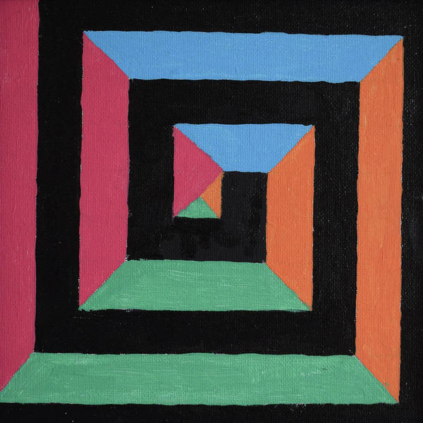 Painting - Geometric Abstract by Thomas Olsen
