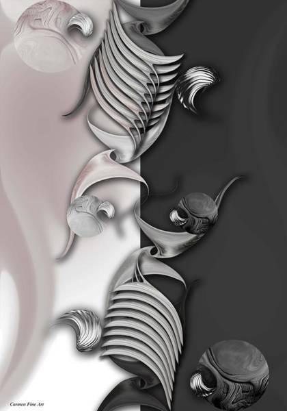Digital Art - Geometric Approach by Carmen Fine Art