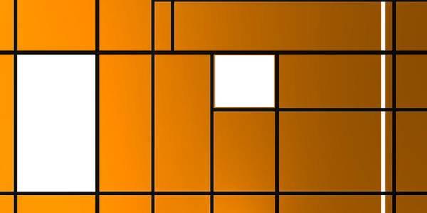 Digital Art - Geometric Compoition .1 by Alberto RuiZ