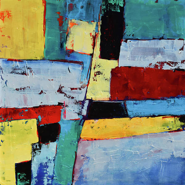 Painting - Geometric Square by Elise Palmigiani