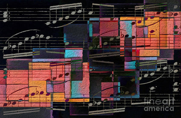 Digital Art - Geometric Gigue by Lon Chaffin