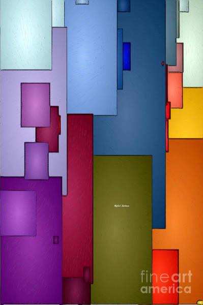 Digital Art - Geometric Pattern 1815 by Rafael Salazar