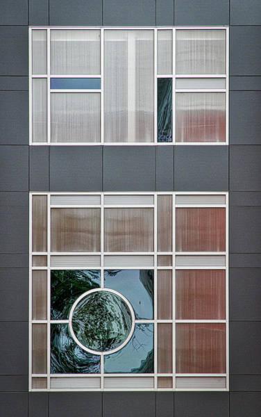 Photograph - Geometric Window Abstract #2 by Stuart Litoff