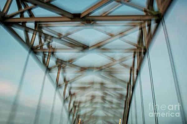 Stye Photograph - Geometry, Desmond Bridge Motion by Michael Ziegler