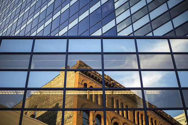 Mke Photograph - Geometry In Architecture by CJ Schmit