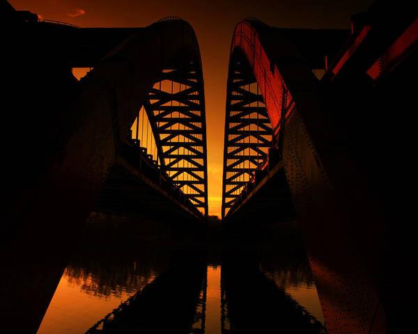 Photograph - Geometry In Steel by Neil Shapiro