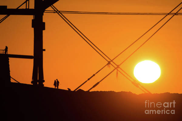 Photograph - Geometry Of Sunset by Keith Morris