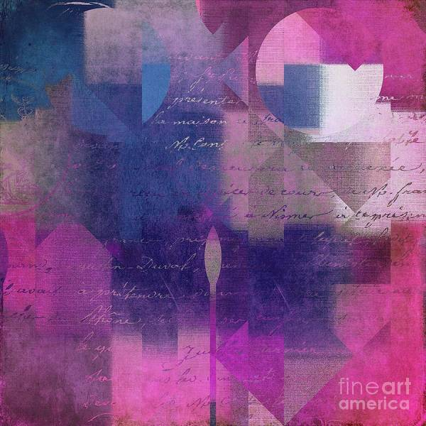 Wall Art - Digital Art - Geomix 04 - 74b by Variance Collections
