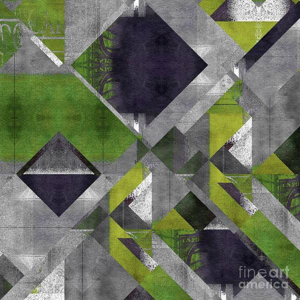 Wall Art - Digital Art - Geomix - 1322-g04 by Variance Collections