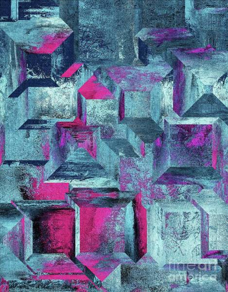Wall Art - Digital Art - Geomo - A01t2 by Variance Collections