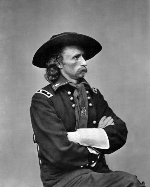 George Armstrong Custer, U.s. Army Art Print