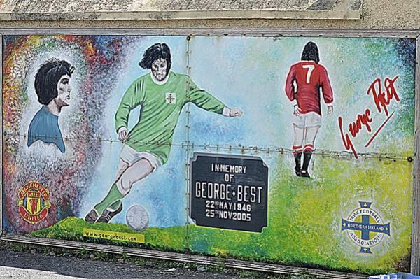 George Best Wall Art - Photograph - George Best by John Hughes