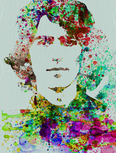 Wall Art - Painting - George Harrison by Naxart Studio