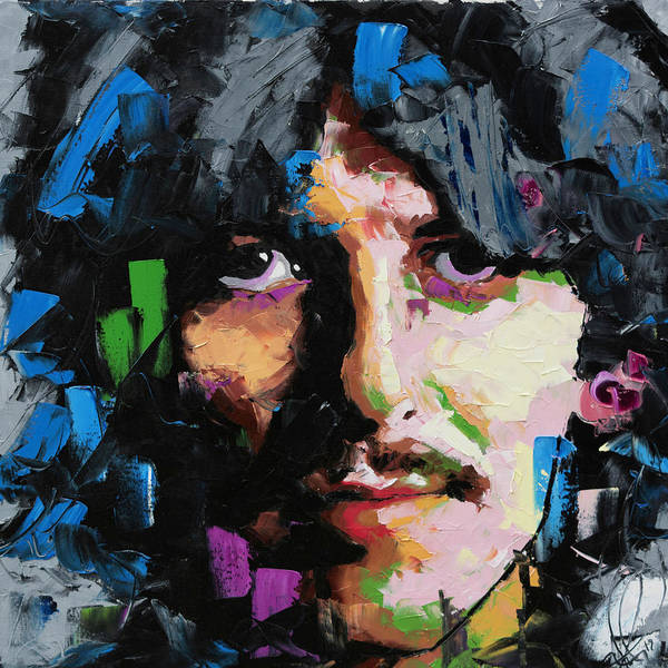 Wall Art - Painting - George Harrison  by Richard Day