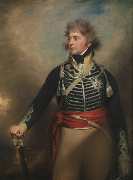 Iv Wall Art - Painting - George Iv, When Prince Of Wales by William Beechey