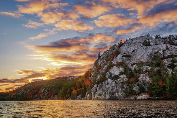 Photograph - George Lake Sunset by Tracy Munson