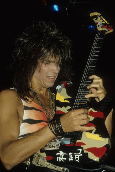 Photograph - George Lynch Of Dokken by Rich Fuscia
