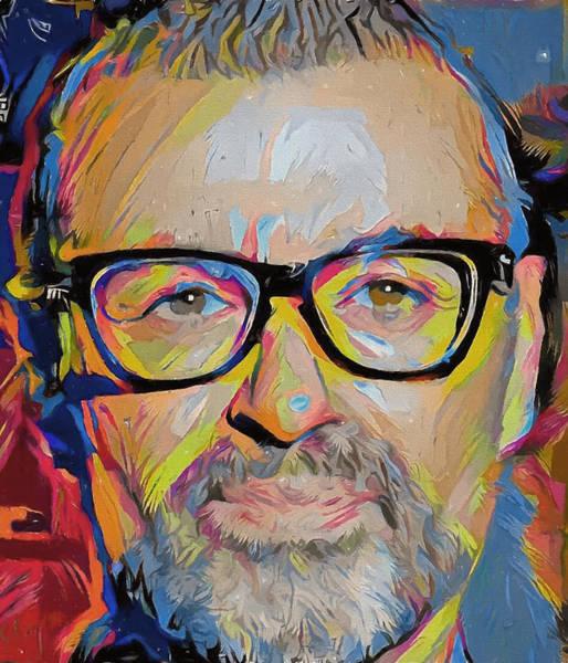 George Michael Tribute 8 Art Print