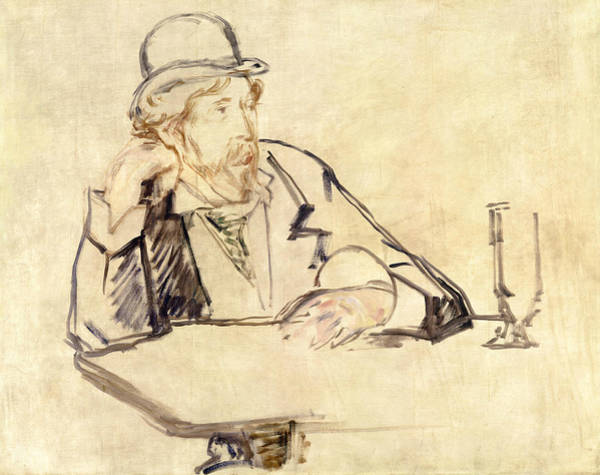 Painting - George Moore At The Cafe by Edouard Manet