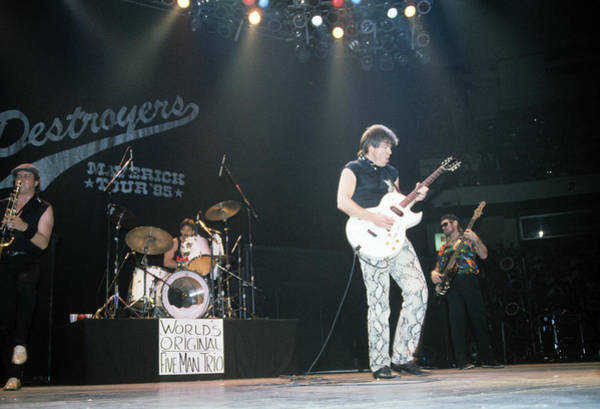 Photograph - George Thorogood And The Delaware Destroyers by Rich Fuscia