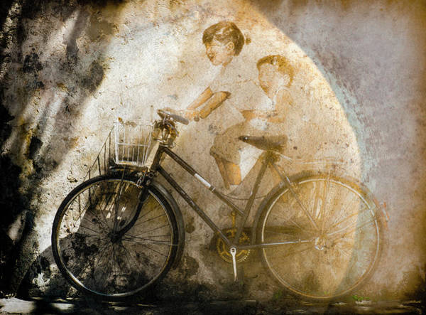 Photograph - George Town, Penang, Malaysia - Bicycle Mural by Mark Forte