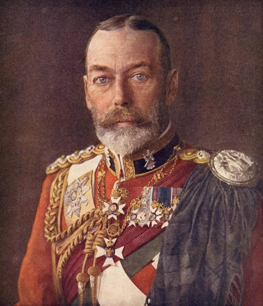 Wall Art - Drawing - George V, 1865 To 1936. King Of England by Vintage Design Pics