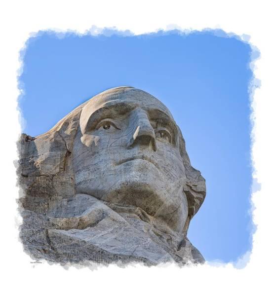 Photograph - George Washington 3 by John M Bailey