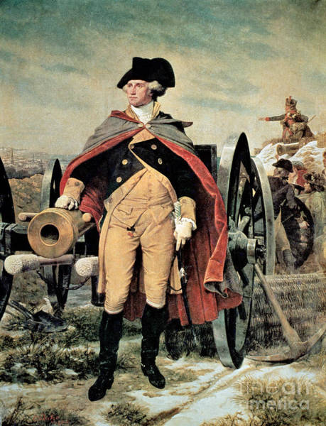 Axe Wall Art - Painting - George Washington At Dorchester Heights by Emanuel Gottlieb Leutze