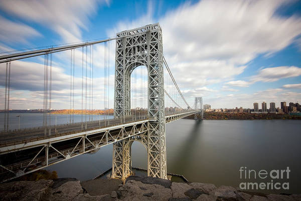 Wall Art - Photograph - George Washington Bridge by Greg Gard