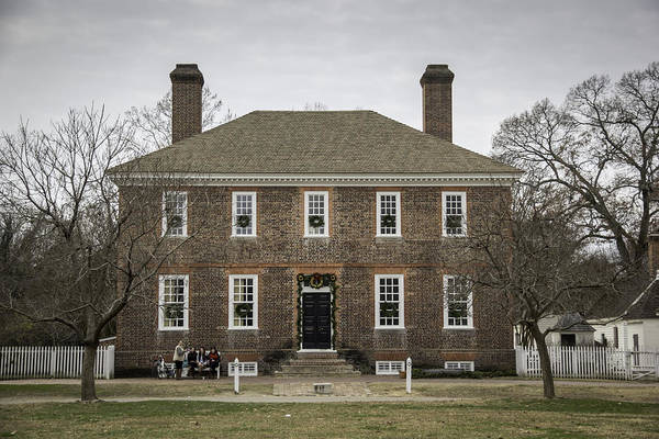 Royal Colony Photograph - George Wythe House Williamsburg 2014 by Teresa Mucha