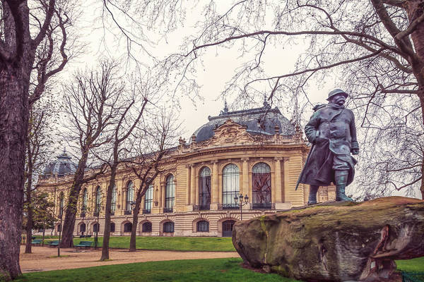 Wall Art - Photograph - Georges Clemenceau And Petit Palais Paris by Joan Carroll
