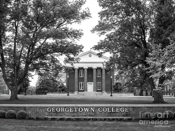 Photograph - Georgetown College Giddings Hall by University Icons