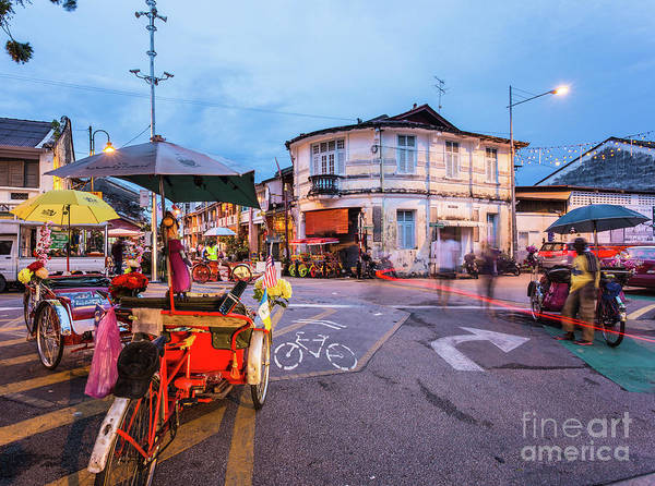 Photograph - Georgetown In Penang, Malaysia by Didier Marti