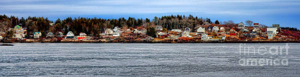 Wall Art - Photograph - Georgetown Island Bay Point In Maine by Olivier Le Queinec