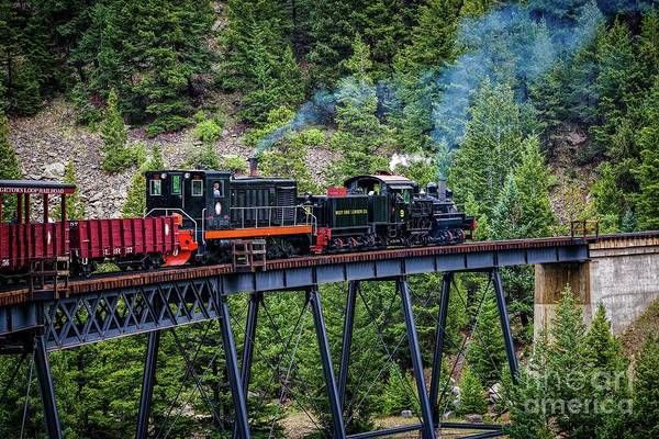 Photograph - Georgetown Railroad At Devil's Gate by Jon Burch Photography