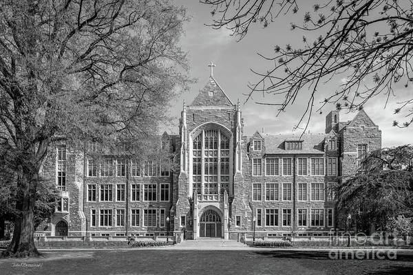 Photograph - Georgetown University White Gravenor Hall by University Icons