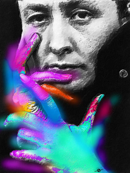 Painting - Georgia O'keeffe by Tony Rubino
