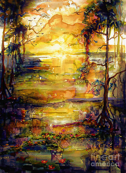 Painting - Georgia Okefenokee Land Of Trembling Earth by Ginette Callaway